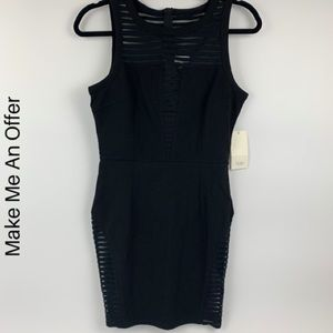 Tobi medium dress black sleeveless NWT